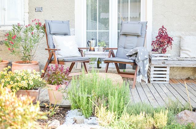 ogrod w stylu skandynawskim