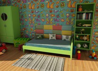 zielony pokoj dla dziecka
